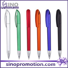 Metal Luster Plastic Ballpoint Pen/ Frosted Advertising Ball Pen