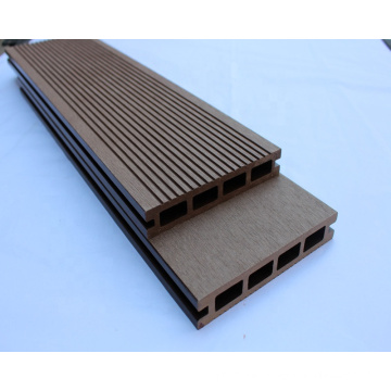 High Cost-effective composite decking material/ wpc flooring/wood plastic composite with 6 years experience