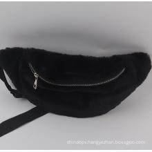 Fashion autumn and winter plush waist bag
