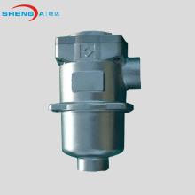 En la carcasa del filtro de aceite de succión hidráulica del tanque