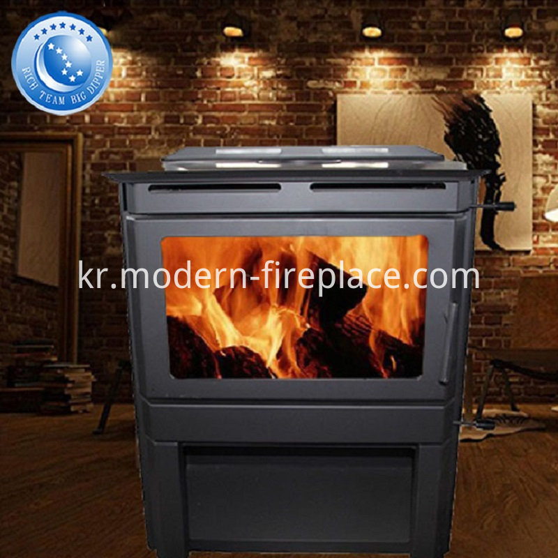 Country Wood Burning Furnace Fireplace Burner