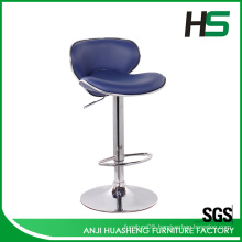 Ergonomic metal bar stool chair