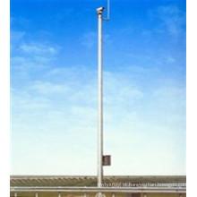 Pólo de aço da torre de comunicação de micro-ondas galvanizado