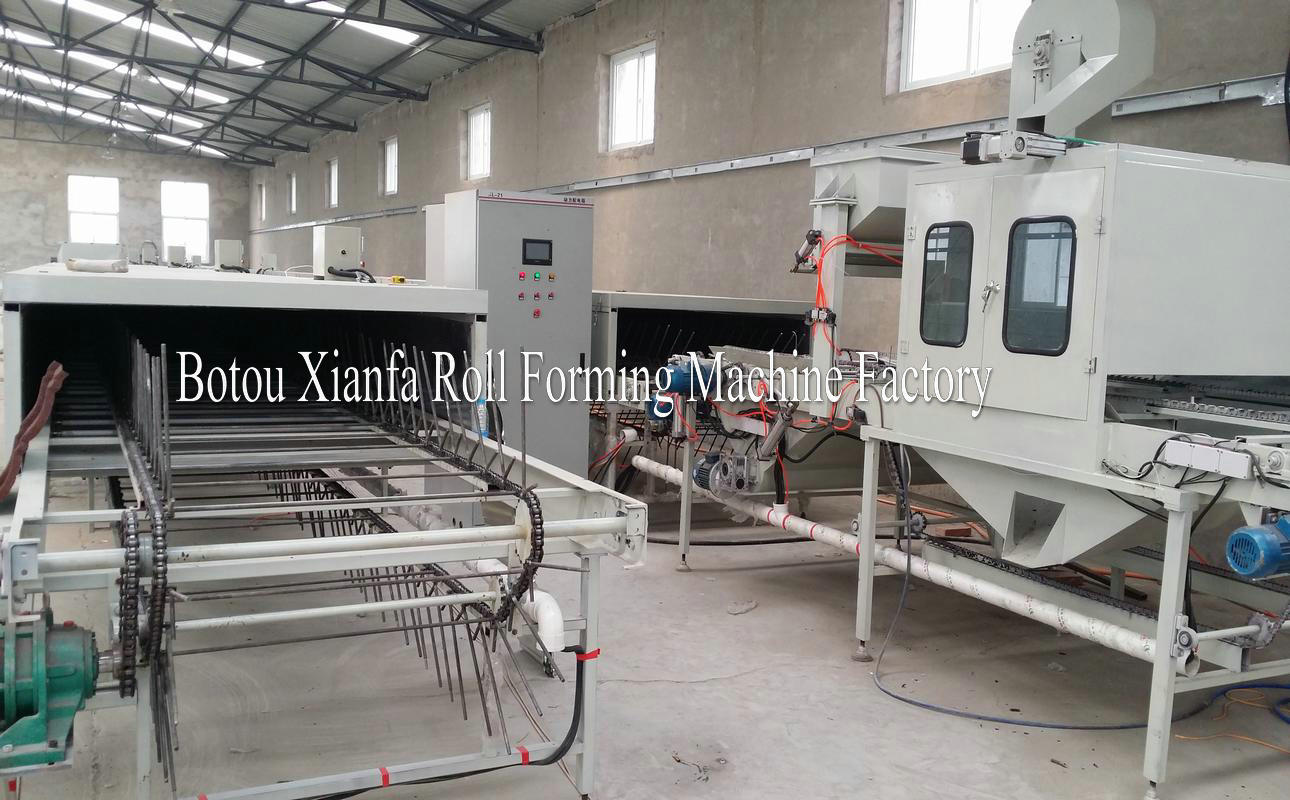 Vermiculite Tile Machine