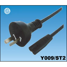 Argentina IRAM Power Cord with IEC C7 Plug