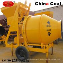 Máquina mezcladora de alimentación de cemento Hormigón eléctrico de tambor