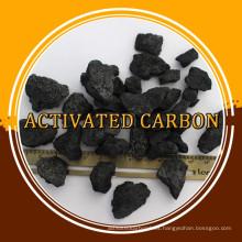Venta caliente en coque de medios de filtro natural en todo el mundo