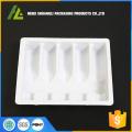 White Blister Plastic PVC Medical Bottle Tray