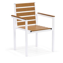 Plast Wood Outdoor Dining Table Chair