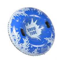 """Inflatable 48"""" Round Snow Tube for winter sports"""