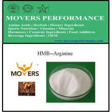 Bêta-hydroxy-bêta-méthyl butyrate arginine (HMB-arginine)