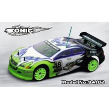 2.4G 1: 10 Nitro RC Auto 4WD Fernbedienung Spielzeug