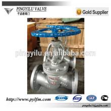 Flansch mit Kohlenstoffstahl Globe Ventil Herstellung in China