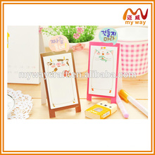 wholesale stationery of mini sketchpad sticky note,custom mini stationery set