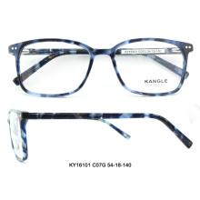 Le plus nouveau design acétate optique lunettes cadre plein-jante lunettes nouveau modèle montures de lunettes pour la Chine en gros