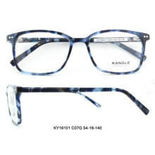 Newest design acetate optical glasses frame full-rim eyeglasses new model eyeglass frames for China wholesale