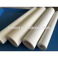 Preço de fábrica termopar isolamento elétrico 60% Al2O3 alumina rolo tubo de tubo de cerâmica