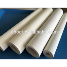 Factory price thermocouple electrical insulation 60% Al2O3 alumina ceramic tube pipe roller