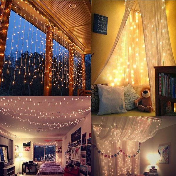 decoration waterproof led curtain light
