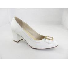 2016 moda salto alto chunky senhoras vestido sapatos (hyy03-169)