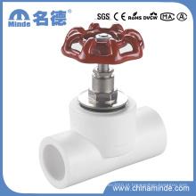 PPR Válvula de Paragem Normal para Materiais de Construção