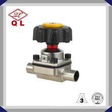 Трехходовой мембранный клапан U-типа из нержавеющей стали