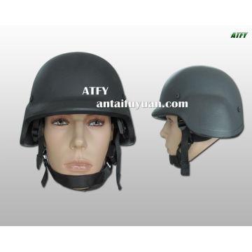 NIJ0101.04 und STANAG 2920 NATO-Standard und PASGT Ballistic Helm des US-Militärs.