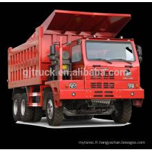6 * 4 70T Sinotruk HOWO Mine camion à benne basculante / HOWO minier camion / 70T HOWO mine camion / 70T HOWO mine benne camion
