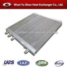 Refrigerador de agua / placa de excavadora de aletas intercambiador de calor / excavadora de aluminio radiador / excavadora piezas de repuesto / enfriador excavadora