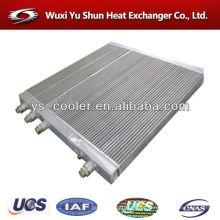 Refrigerador de água / placa de aleta escavadeira trocador de calor / escavadeira de alumínio radiador / escavadeira peças sobressalentes / escavadeira refrigerador