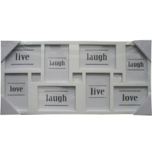Ouverture 8 blanc ouvertures multiples Photo Frame