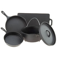Fábrica de utensilios de cocina de hierro fundido a medida