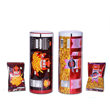 Aluminium Foil Laminated Roll Film For Snack