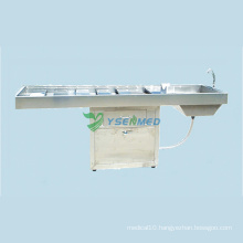 Medical Hospital Mortuary Room Corpse Cleaning Table