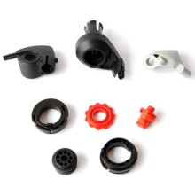 Plastic injection accessories for homeappliance