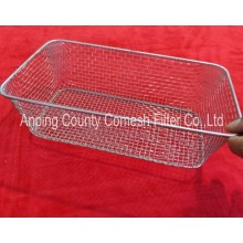 Food grade stainless steel kitchen cooking baskets