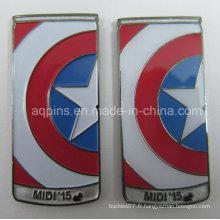 Insigne professionnel de Pin du fabricant en tant que souvenir (badge-214)