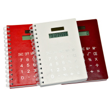 Pocketbook PU Cover Notebook Calculator