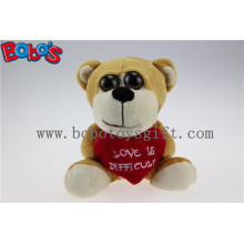 Valentine Подарки Большой Глаза Игрушка серии Плюшевые Медведь с подушкой сердца