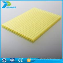 Оптовая цена завода 4мм Звукоизолированные поликарбонатных панелей лоус лист