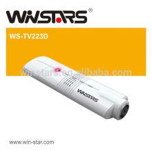 USB 2.0 Digitaler Fernsehempfänger für Streaming.Mini DVD-T USB TV Tuner, Antenne und Kabel TV Adapter