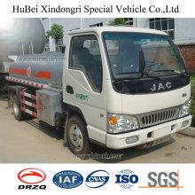 5cbm JAC Euro 3 Petrol Gasoline Oil Fuel Tank Truck with Diesel Engine