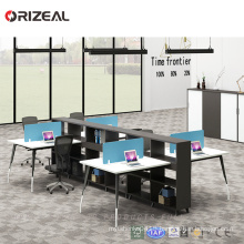 Melamine combined panel modular office workstation