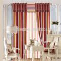 100% Polyester Material und Streifen Stil Linie Vorhang