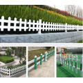 PVC Picket Plastic Lawn Edging Fence