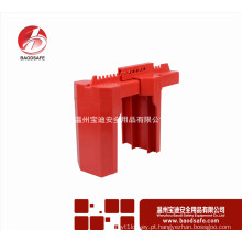 Wenzhou BAODSAFE BDS-F8602 Válvula de esfera Bloqueio de segurança Bloqueio de segurança Bloqueio de válvula de esfera de cor vermelha