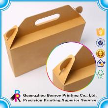 Benutzerdefinierte Kraftpapier Food Box wegnehmen Lebensmittelverpackungen Lunch Box Printing
