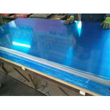 Hoja de aluminio 5052 con ambos lados recubiertos de PVC