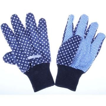 Garden Gloves with Knitted Wrist