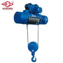 Wireless Remote Control Ceiling Roof Cable Wire Rope Electric Hoist Price with Monorail Trolley and Limit Switch